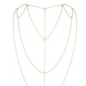 Золотистое плетеное украшение Magnifique