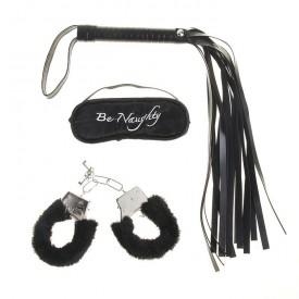 Набор для влюбленных: плетка, наручники, повязка